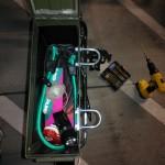 bike trunk loaded w u bolts