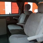 Removal rear-facing seat installed.