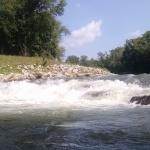 "Hooch ""Wave"" from just downstream."